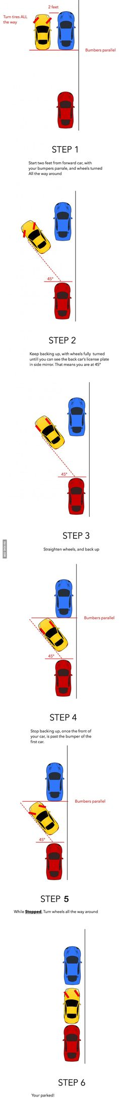 Parallel Parking Hack (Taught to me by a bus driver)