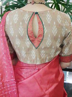Blouse Neck Patterns, Blouse Designs High Neck, Cotton Saree Blouse Designs, Fancy Blouse Designs, Pattern Blouses For Sarees, Designer Saree Blouses, Latest Blouse Designs, Latest Blouse Patterns, Brocade Blouse Designs