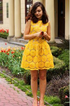 sunflower flower girl dress - Google Search