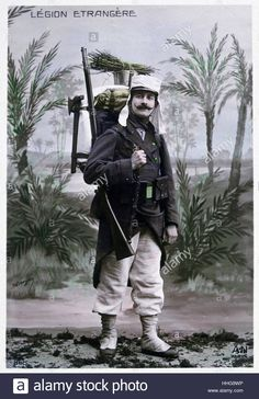 French Foreign Legion, soldier, Algeria, 1910