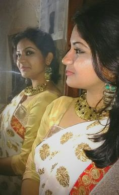 I luv this look, i wore on a puja day