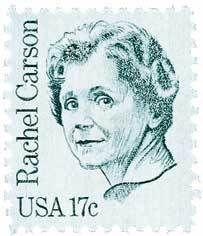 1980 17c Rachel Carson Scott 1857 Mint F/VF NH