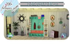 Sims 4 CC's - The Best: Mud Room Set by Sims 4 Designs