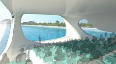 The 2500 sq. meter marine research center would be located 150 meters ahead in the sea near the Kuta beach.