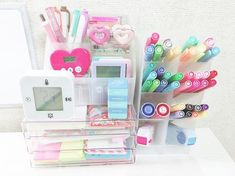 Study Organization, Study Desk, Daughters Room, Cherries, My Room, Room Inspiration, Bedroom Decor, Stationery, Interior