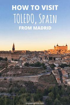 3 Great Day Trips From Madrid, Spain #spain #madrid #daytrip #toledo #avila #segovia