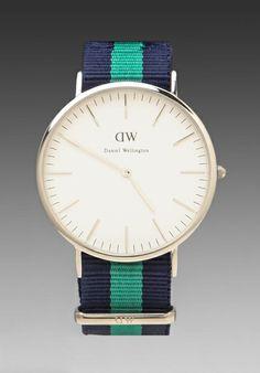 Daniel Wellington Warwick watch in silver - $199