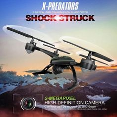 JXD 510G JXD510G X-Predators 5.8G FPV With 2.0MP HD Camera High Hode Mode RC Quadcopter RTF - DARCY'S RC'S TOYS AND GIFTS