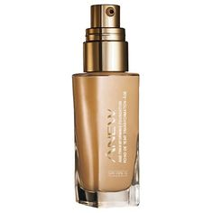 Anew Age-Transforming Foundation #SPF 15 reg. $20.00 Natural finish. Full creamy coverage. Smoothes on like silk. 30 ml - Minimizes wrinkles, fine lines & age spots - Improves skin texture, tone & clarity - SPF 15 protects skin against damaging UVA/UVB rays and future signs of aging