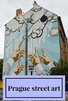 Prague street art - a mini guide