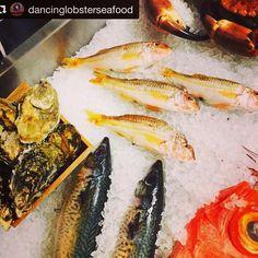 Mai proaspăt de atat doar dacă te scufunzi după el în Ocean și îl prinzi cu mana #seafood #dancinglobster #freshwaterfish