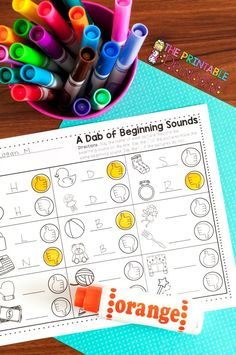 Bridge your learners from letter sounds to reading with these easy-prep activities! Fine motor practice is a helpful bonus ;)