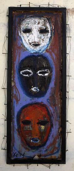 """the Three Fates"" by santa fe artist Kelly Moore… www.kellymoore.net"