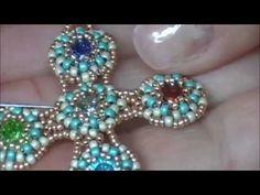 Tutorial - Assemblaggio moduli per creare croce Esperanza - Seconda parte - YouTube