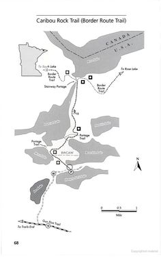 Border Route Caribou Rock Trail - Grand Marais/BWCA hiking