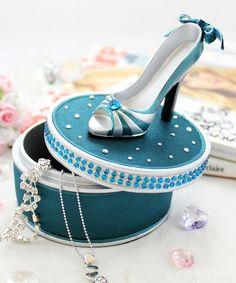 Loving this Green Elegant Rose Jewelry Box on #zulily! #zulilyfinds