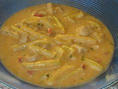 Makacska konyhája: Zöldbabos csirke(mell)