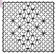 Pour le carré n° 23, Dominique vous propose d'associer un fond triangle et des araignées sur un fond torchon ... Needle Lace, Bobbin Lace, Lacemaking, Christmas Tree Decorations, Tatting, Triangle, Projects To Try, Quilts, Etsy