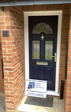 Sunbeam2 style in Blue, with TG43 glazing and Chrome hardware.  About the Palladio Door Collection; UK Profile Developments have endeavoured to provide a superior composite door which has resulted in the iconic Palladio Door Collection. Not only are their doors strong, a-rated and highly secure, they combine tradition with the latest innovation putting them at the forefront of the composite door industry in the UK. Composite Front Door, Solid Doors, Entrance, Innovation, Composition, Garage Doors, Chrome, Hardware, Profile