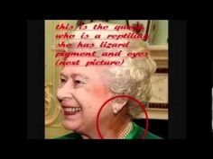 The Queen is a Reptilian who eats Human Babies & Children.V2 The Government run by Reptilians!! - YouTube