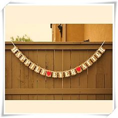 Wedding Décor HAPPILY EVER AFTER Kraft Banner Bunting  Venue Decoration Photo Prop – USD $ 11.99