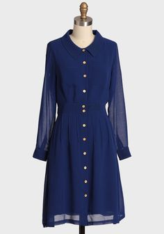 Royal Bloomfield Button-up Dress | Modern Vintage Cute Dresses For The New You