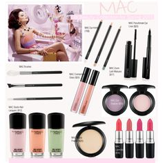 MAC Is Beauty Collection for Spring 2015 by kusja on Polyvore featuring beauty, Beauty, mac and beautyproducts