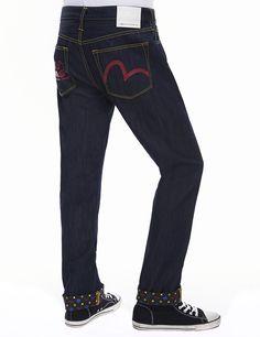 26cf2f309266 EVISU Genes Seagull Jeans   2008 Regular Evisu