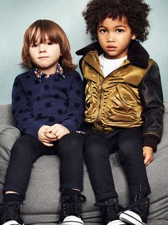 Polka dots and weatherproof outerwear for boys - the new Burberry S/S14 Childrenswear collection