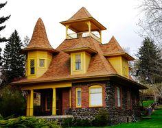 Загородный дом с бельведером
