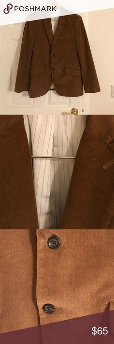 Brown corduroy Banana Republic blazer Beautiful brown corduroy blazer. Goes perfect with jeans and a button down for the fall/winter! Banana Republic Suits & Blazers Sport Coats & Blazers