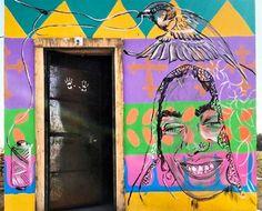 Street Art, Sari, Neon Signs, Saree, Saris