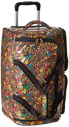 342085bb3bf3 Sakroots Women s Artist Circle Rolling Duffle