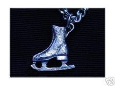 925 Sterling Silver Skating Skates Ice Charm Pendant | eBay