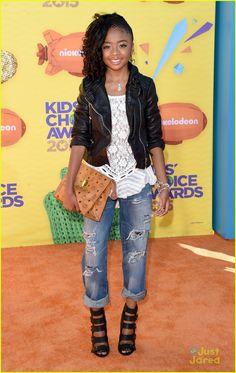Skai Jackson at Kids Choice Awards 2015