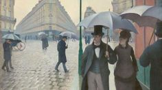 Paris Street, Rainy Day (Credit: Gustave Caillebotte)