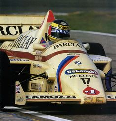 Gerhard Berger Arrows-BMW