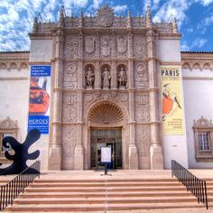 San Diego Museum Of Art. Really well set up for kids, with scavenger hunts, drop in make art on Sundays, and a dramatic play area where you can try out different museum jobs.