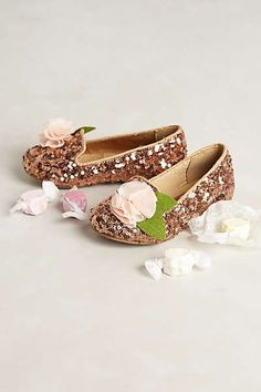 Anthropologie - Rosie Sequin Children's Loafers