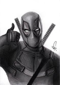 #Deadpool #Fan #Art. (DEADPOOL) By: Yvette Jarosova. ÅWESOMENESS!!!™ ÅÅÅ+