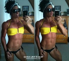 Dana Linn Bailey! She is my fitspiration! Love her!