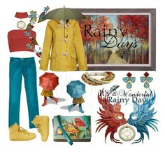 """""""Monday's Don't Thrill Her, But Rainy Days Never Get Her Down (she can stay inside looking at the wonderful sets her Poly friends have made!)"""" by sharee64 ❤ liked on Polyvore featuring PearLustre by Imperial, Anuschka, Chanel, Boohoo, Gucci, Seasalt, Leighton and Robert Lee Morris"""