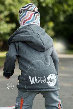 Eine Jacke für den Wirbelwind - Nähanleitung via Makerist.de