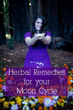 Holistic Remedies The final installment in the Moon Cycle Series where we talk about simple herbal remedies for a happier moon cycle. - The final installment in the Moon Cycle Series where we talk about simple herbal remedies for a happier moon cycle. Holistic Remedies, Natural Home Remedies, Natural Healing, Herbal Remedies, Health Remedies, Natural Herbs, Herbal Tinctures, Herbalism, Natural Medicine