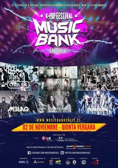 Music Bank Chile!