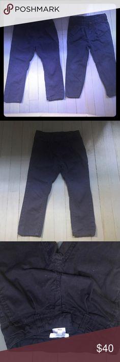 Bundle Jacadi navy blue chino pants Bundle of Jacadi navy blue adjustable waist zip fly back pocket chino pants Jacadi Bottoms Casual