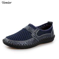 Yomior Men's Flats Cow Leather Shoes Zapatos Vintage Zapatillas Designer Walking Shoes Mens Dress Moccasins Loafer Comfortable  #Affiliate