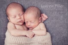 Newborn twins, gorgeous little boys!  www.leannemillerphotography.co.uk