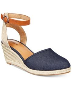 67240ee71e3 Style   Co Mailena Wedge Espadrille Sandals
