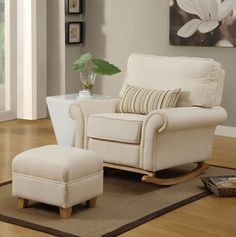 Hush Hush Rocking Chair *the Luxury Nursing/glider/gliding/maternity Chair